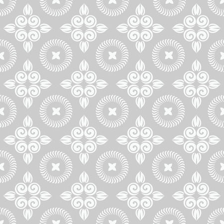 wallpaper floral: Romantic floral seamless pattern for decoration damask wallpaper, vintage style
