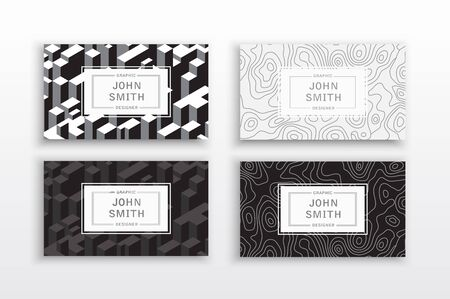 textured paper: business card Template