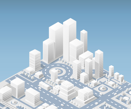 illustration city urban Illustration