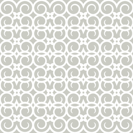 template: Seamless pattern silhouette cut tracery curls. Design for scrapbooking, business cards, background for craft