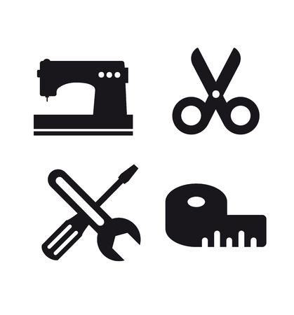 Craft icon business idea Vettoriali
