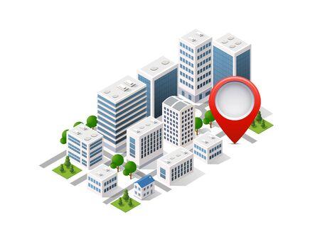 Navigation city map