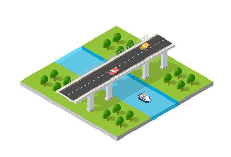 The bridge skyway