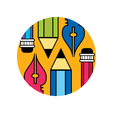 Logo of the designer and artist
