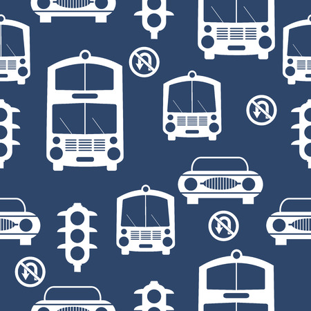 Seamless Cars pattern