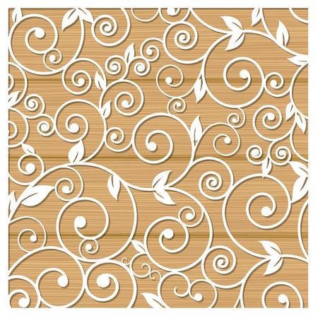 Laser cutting of stencils vector illustration.