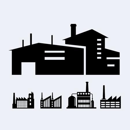 A set of design industrial Vettoriali