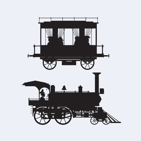 set of design city elements Vector illustration. Vettoriali