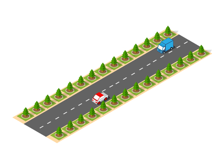 Suburban high speed isometric design