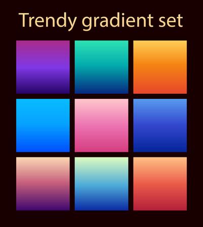Purple trendy set