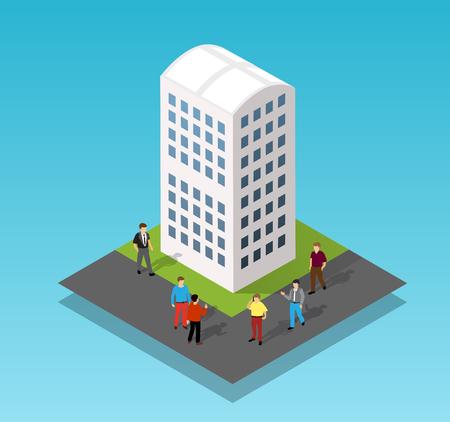 Architecture vector illustration Illustration