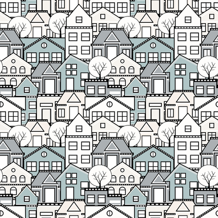 Seamless repeating pattern Ilustração
