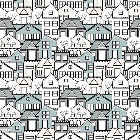 Seamless repeating pattern Illustration