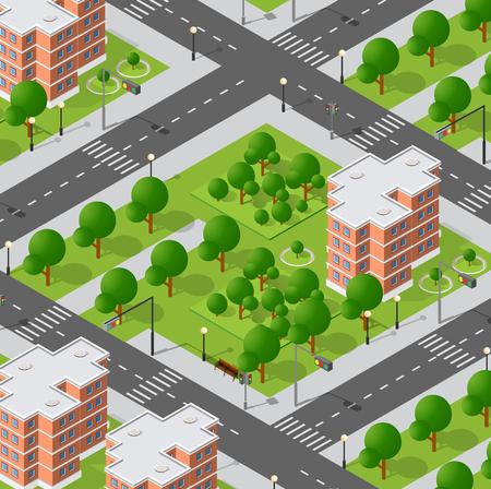 Architecture vector illustration Ilustração