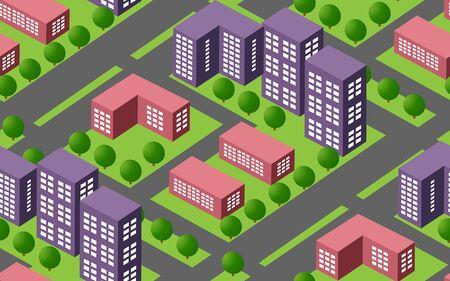 Seamless urban plan