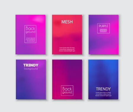 Violet créatif futuriste moderne abstrait