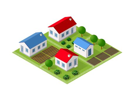 Module block city urban cityscape of building set elements street landscape architecture illustration