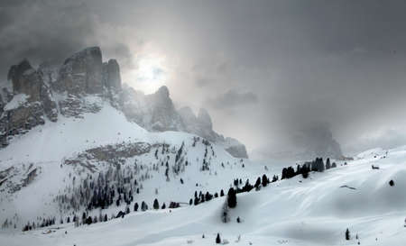 sella: Sella Ronda (Sella Group) Dolomite Alps Italy Stock Photo