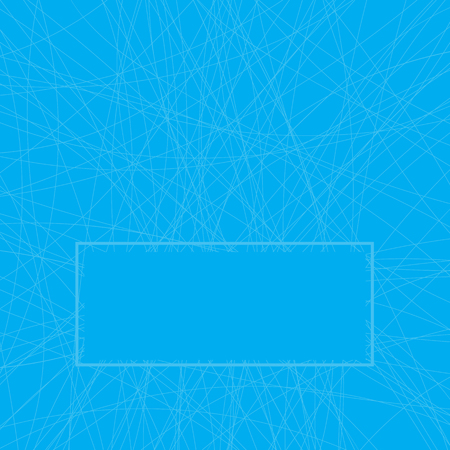 trace: trace of skates on blue ice background Illustration