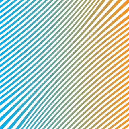 background vector blue orange line Illustration