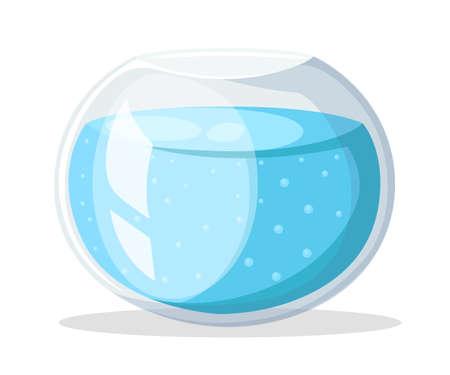 Aquarium fish Flat design style vector illustration Illustration