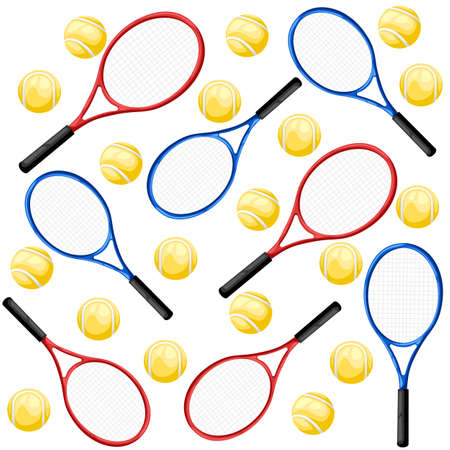 Tennis rackets, tennis rackets icon, sport. Flat design, vector illustration, vector. Web site page and mobile app design vector element