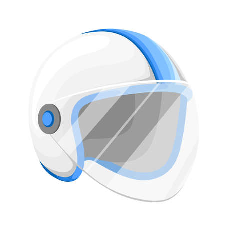 Racing helmet icon. Gray monochrome illustration of helmet vector icon for web design Web site page and mobile app design vector element