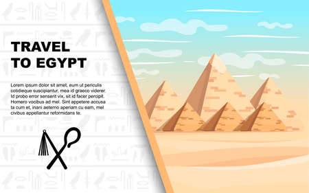 Giza pyramid complex. Egyptian pyramids daytime wonder of the world great pyramid of giza