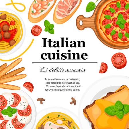 Italian cuisine.