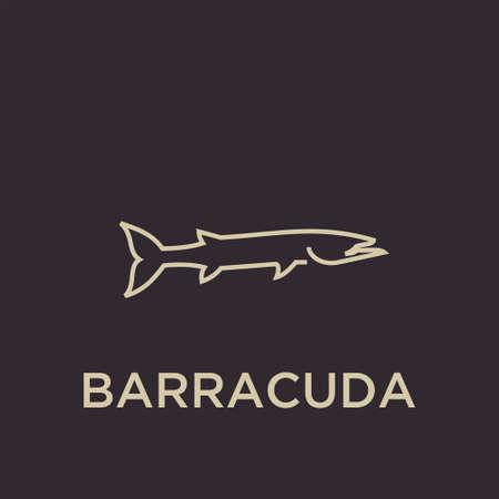 BARRACUDA logo icon designs vector  イラスト・ベクター素材