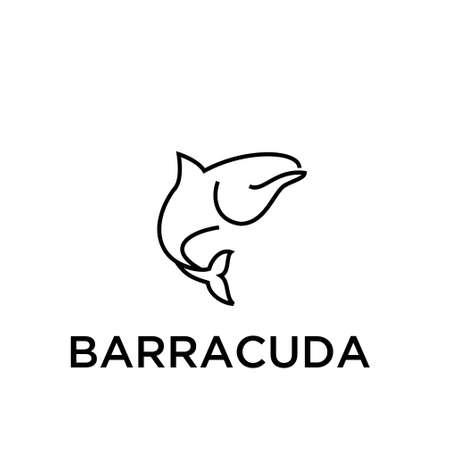 BARRACUDA vector  イラスト・ベクター素材