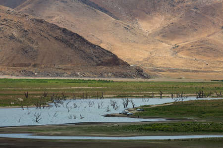 depletion: Formerly Lake Isabella, Isabella is a census-designated place CDP in the southern Sierra Nevadas, in Kern County, California, United States. It is located at Lake Isabella, near Kernville.The town of Lake Isabella is located 35 miles 56 km east-northeast