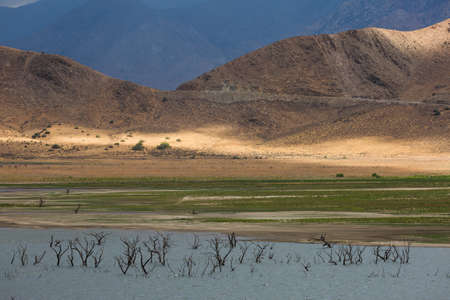 depletion: Lake Isabella (formerly, Isabella) is a census-designated place (CDP) in the southern Sierra Nevadas, in Kern County, California, United States. It is located at Lake Isabella, near Kernville. The town of Lake Isabella is located 35 miles (56 km) east-nor