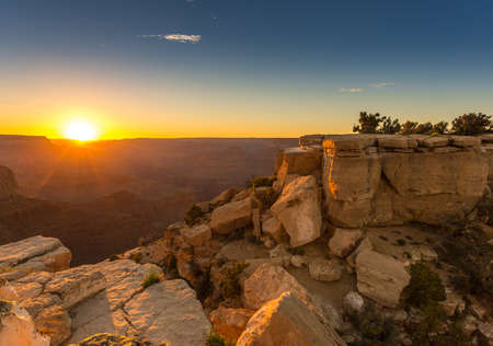toroweap: Sunset in the Grand Canyon is a steep-sided canyon carved by the Colorado River in the state of Arizona in the United States.