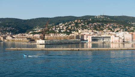 Extreme Panorama of Trieste - Italy  Friuli Venezia Giulia 스톡 콘텐츠 - 144234842