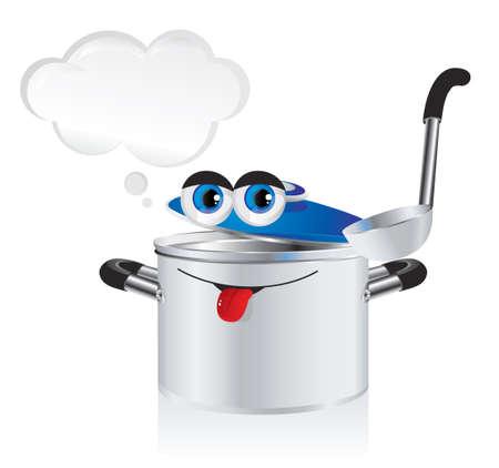 steel pan: Los ni�os alegres Vectores