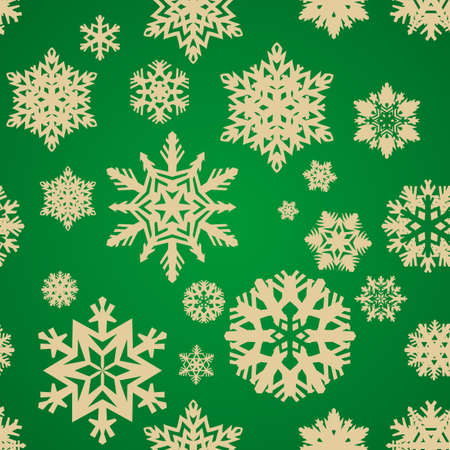 holiday seamless background with snowflakes Stock Vector - 16194516