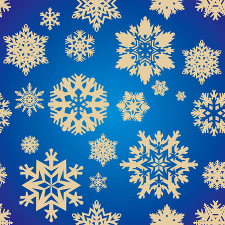 festal: holiday seamless background with snowflakes