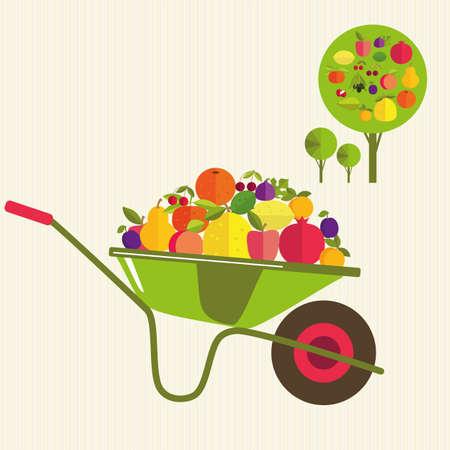 horticultural: harvesting