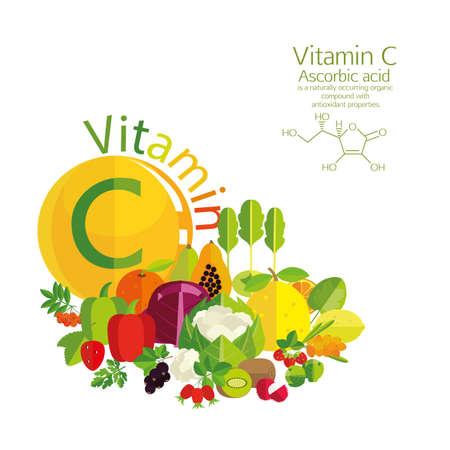 ascorbic: La composici�n de verduras, frutas y bayas con el m�s alto contenido de vitamina C. Breve descripci�n de la estructura molecular y �cido asc�rbico. Fundamentos de la nutrici�n saludable.