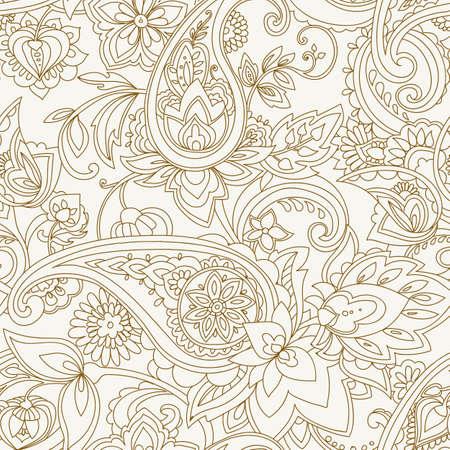 Paisley textile figure