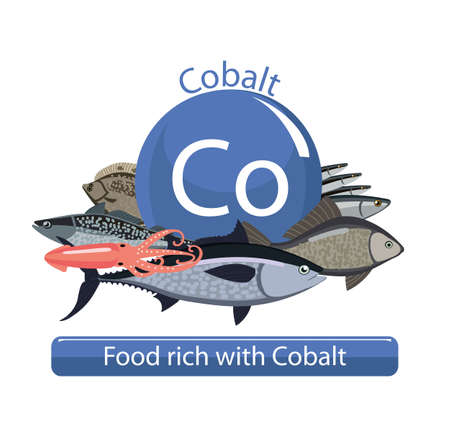 Food rich with cobalt