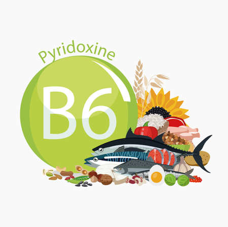 Vitamin B6 (pyridoxine). Food sources. Natural organic products with the maximum content of vitamin B6.