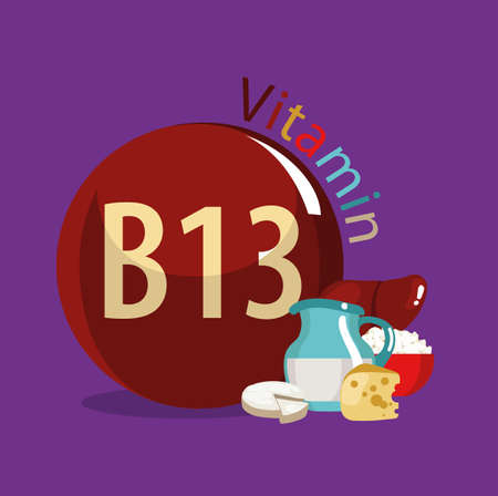 Vitamin B13 (Orotic acid). Natural organic products (dairy products, by-products) with the highest content of vitamin B13.