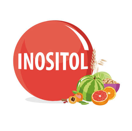 Inositol (Vitamin B8). Natural organic products (vegetables and fruits) with the highest content of inositol.