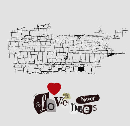 Love never dies. Collage