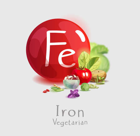 Mineral iron in vegetarian nutrition. Plant foods high in iron. Basics of healthy eating