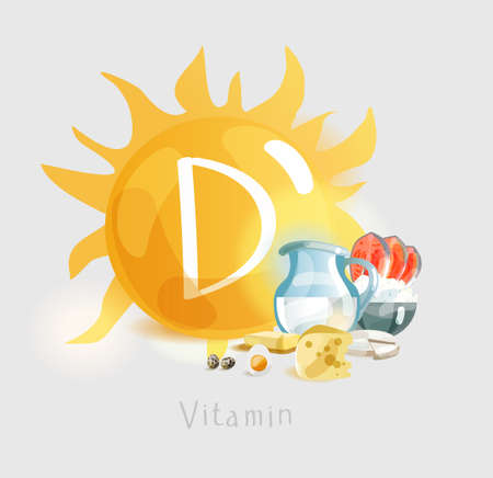 Vitamin D. Natural organic products and sunlight as sources of vitamin D. Health time