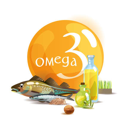 Omega 3. Basics of healthy nutrition. Polyunsaturated fatty acids in foods high in Omega 3. Natural organic food