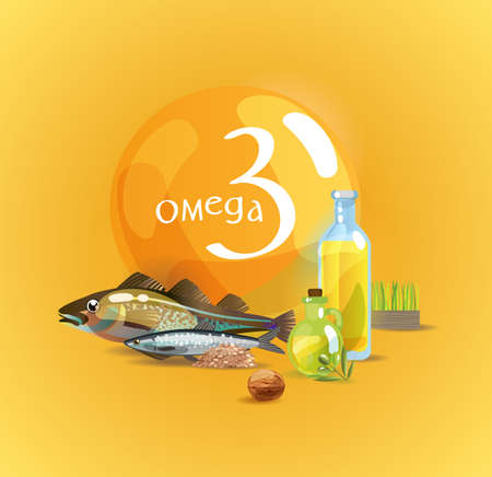 Omega 3. Basics of healthy nutrition. Polyunsaturated fatty acids in foods high in Omega 3. Natural organic foodFundamentals of healthy nutrition.
